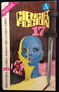 Portada del libro Ciencia ficción 17, de varios autores
