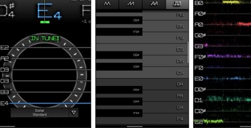 aplikasi ini untuk menyetem gitar akustik