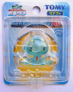 Manaphy figure clear version Tomy Monster 2006 movie promo