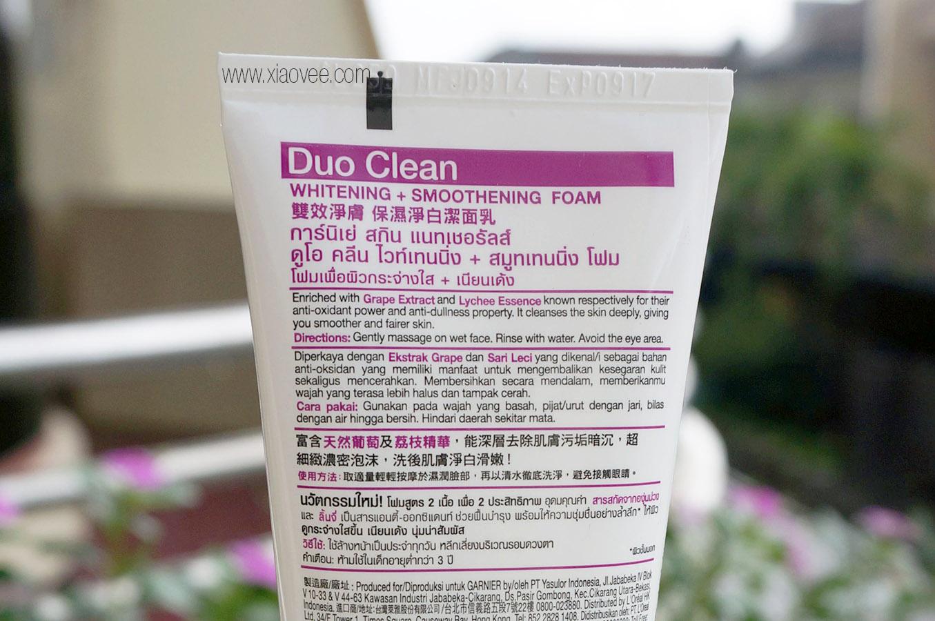 Garnier Duo Clean review