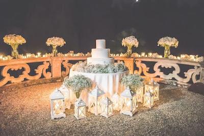 allestimento wedding cake fiori
