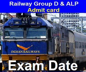 RRB Group D Admit Card 2018, Railway Group D & ALP 2018 Application Status Released (Exam Date)