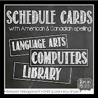 https://www.teacherspayteachers.com/Product/Schedule-Cards-Chalkboard-Themed-824350
