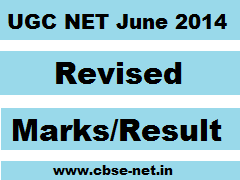 image : UGC NET June 2014 Revised Result & Marks @ cbse-net.in