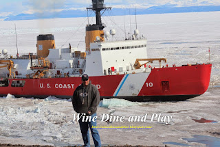 The Polar Star is an ice-breaker ship from the US Coast Guard that goes to McMurdo Station, Antarctica every year to open the seaway