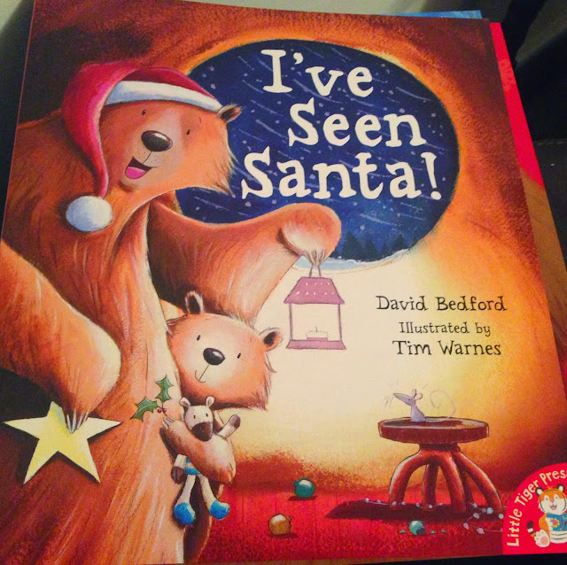 Our Christmas Book Advent tree   Ideas for the Best Children's Books to Buy this Christmas - I've seen santa