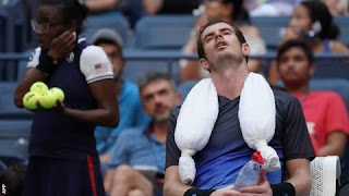 Murray finds positive signs in US Open 2nd round exit