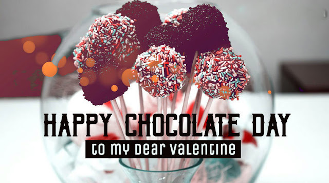 Happy Chocolate day to me dear valentine