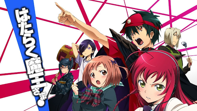 Download OST Opening Ending Anime Hataraku Maou-sama! Full Version