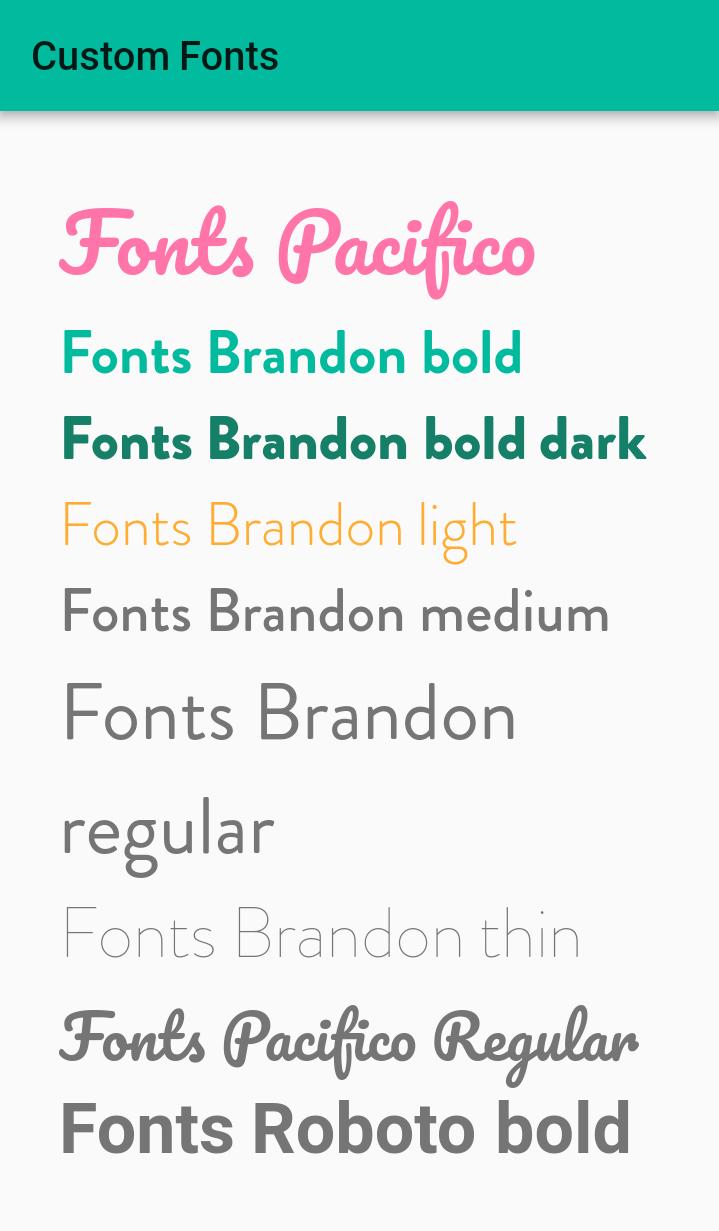 Flutter - Custom fonts family ~ Developer Libs
