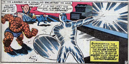 Fantastic Four 48 Kirby Silver Surfer