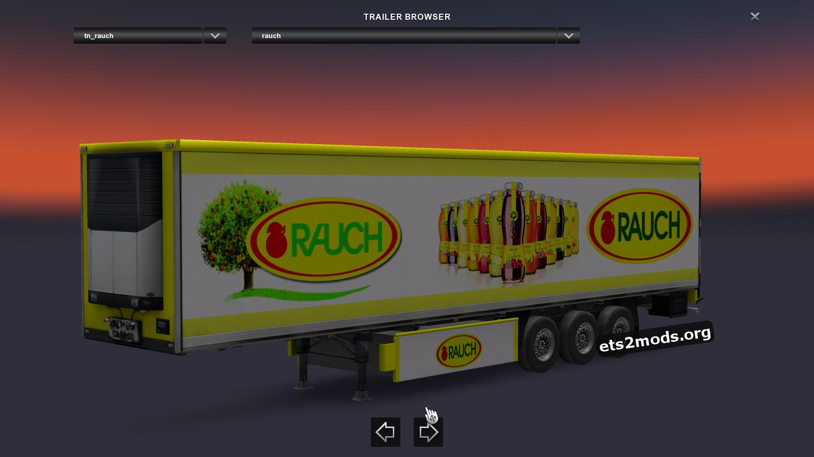 Trailers Pack Juice Brands