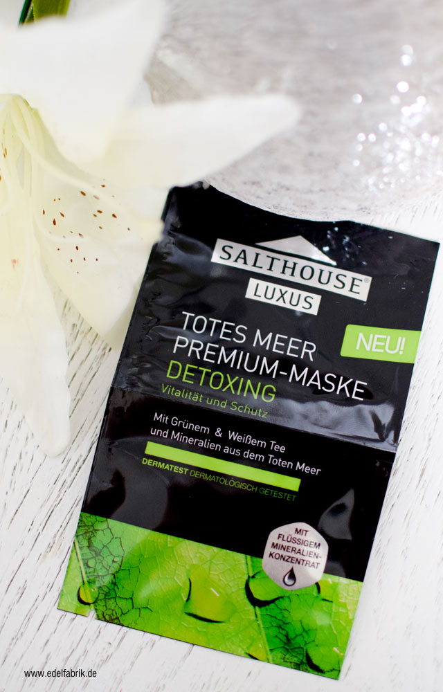 Wie gut ist die Salthouse Totes Meer Premium Maske Detoxing