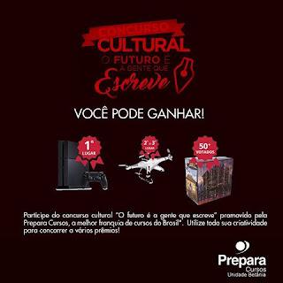 """Concurso Cultural """"O futuro é a gente que escreve"""""""