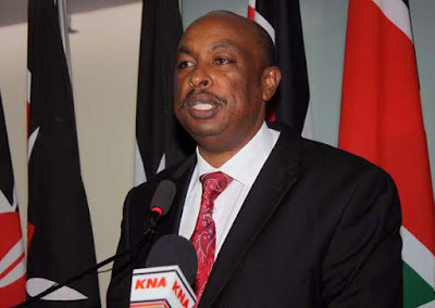 Government spokesman Eric Kiraithe. PHOTO | FILE