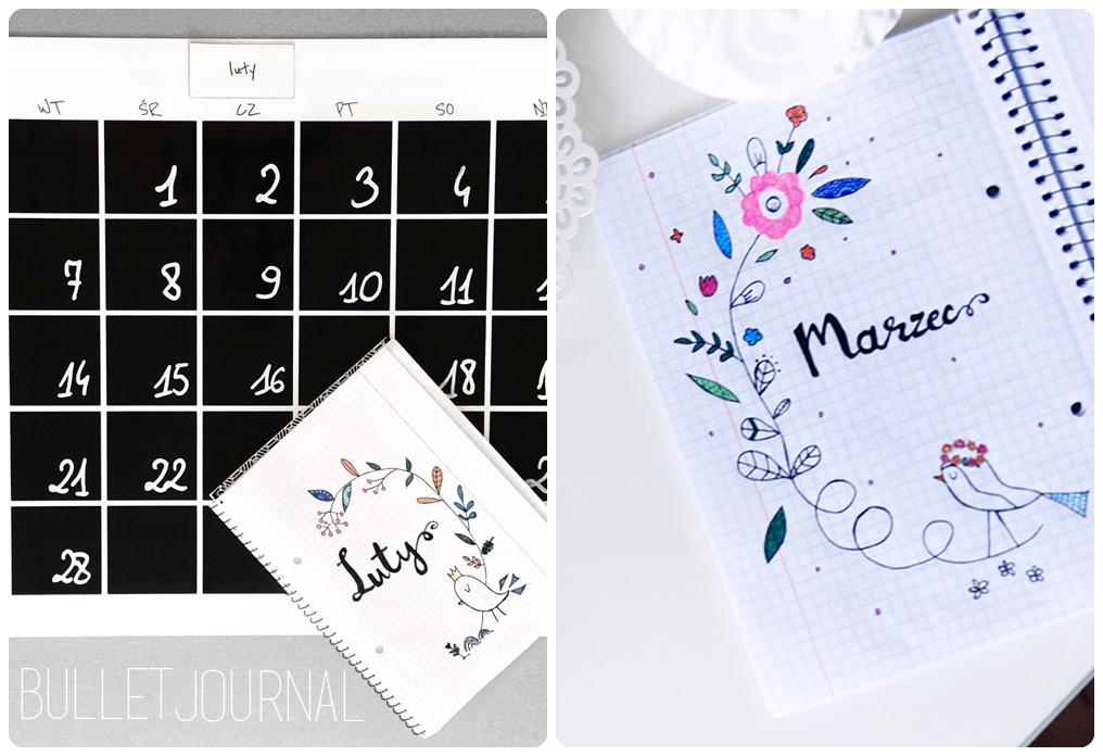 buller journal planowanie