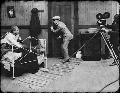 """Чаплин на съемках """"Солнечной стороны"""" - 1"""
