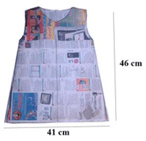 Pola 1 membuat baju anak