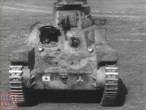 1944年に撮影された日本の戦車