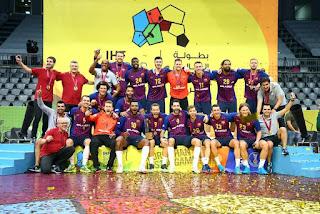 BALONMANO - Super Globe 2018: Segundo título seguido para el Barça y cuarto en su palmarés