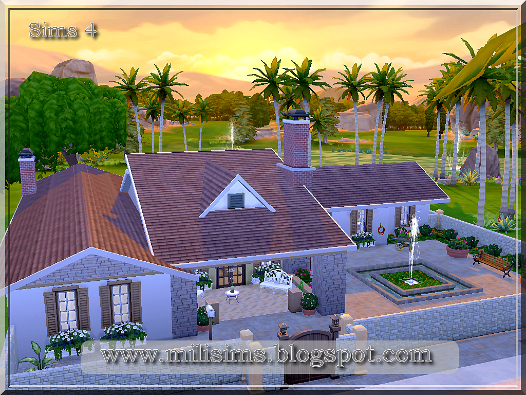 Casa t rrea the sims 4 for Sims 4 piani di casa