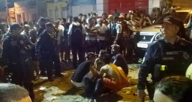 Tiroteio após o carregamento do Pau da Bandeira deixa cinco feridos em Barbalha