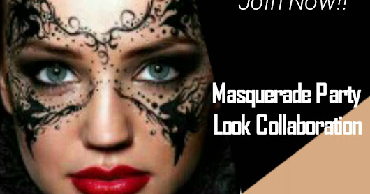 Masquerade Makeup Look - Beauty Blogger Tangerang Collab