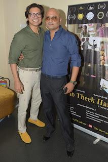 1. Raja Ram Mukerji with Shaan