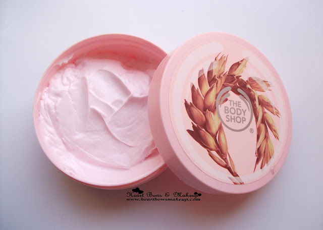 The Body Shop TBS Vitamin E Body Butter Review Price Swatch India