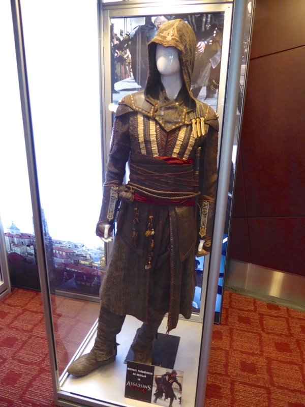 Aguilar Assassin's Creed movie costume