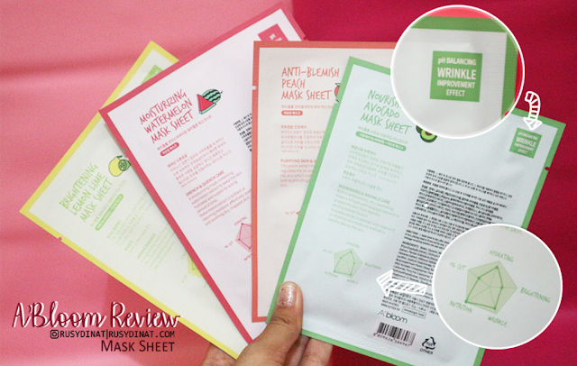 Althea A'bloom Fruit Mask Sheet