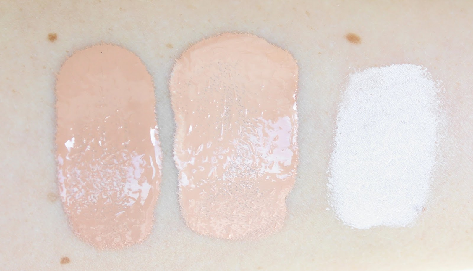 The Body Shop Lightening Shade Adjusting Drops Swatches - Create Your Perfect Foundation Shade