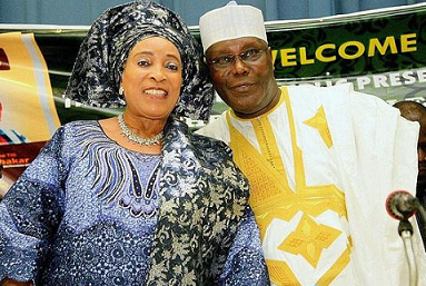 Image result for Chief (Mrs)Titi Atiku-Abubakar Titi Atiku, wife of former Vice President Atiku Abubakar,