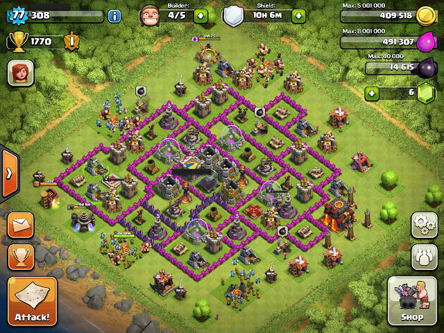 Clash Clans Each Looks Upgrade What