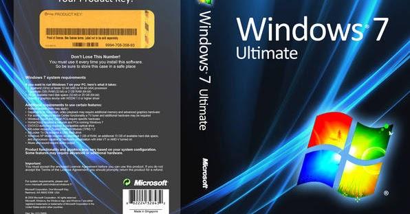 نسخة ويندوز 7 اصلية