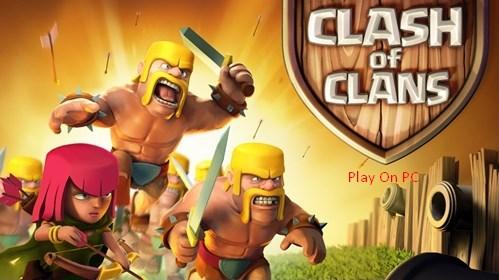 permainan clash of clans di komputer