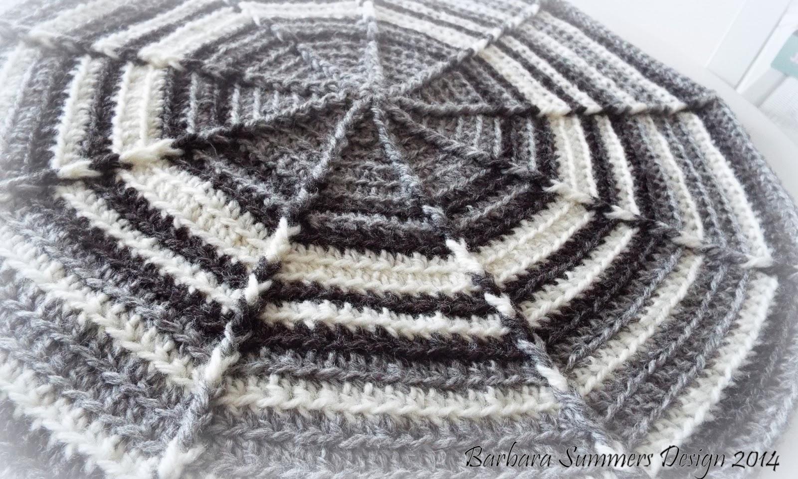 MICROCKNIT CREATIONS: NOVEM Crochet Circular Cushion Pattern