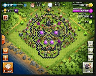 How to Cheat the game COC in HP Android Without Roots