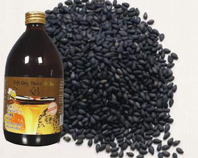 Bài thuốc chữa viêm dạ dày bằng mật ong và vừng đen