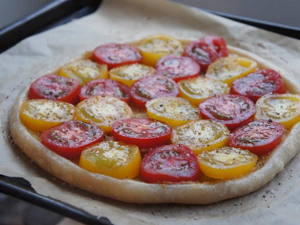 REZEPT: glutenfreie Tomaten-Tarte