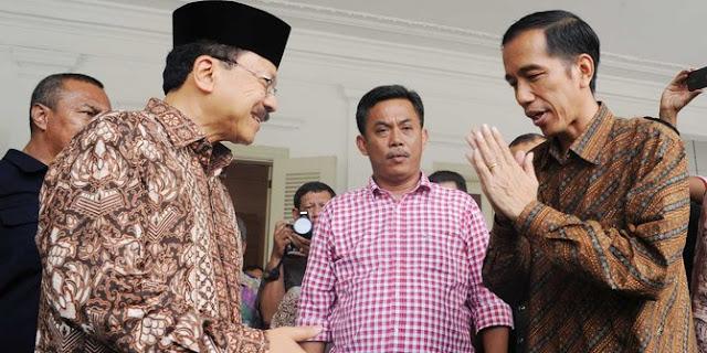 Jokowi Disambut Fauzi Bowo saat Tiba di Hamburg Jerman