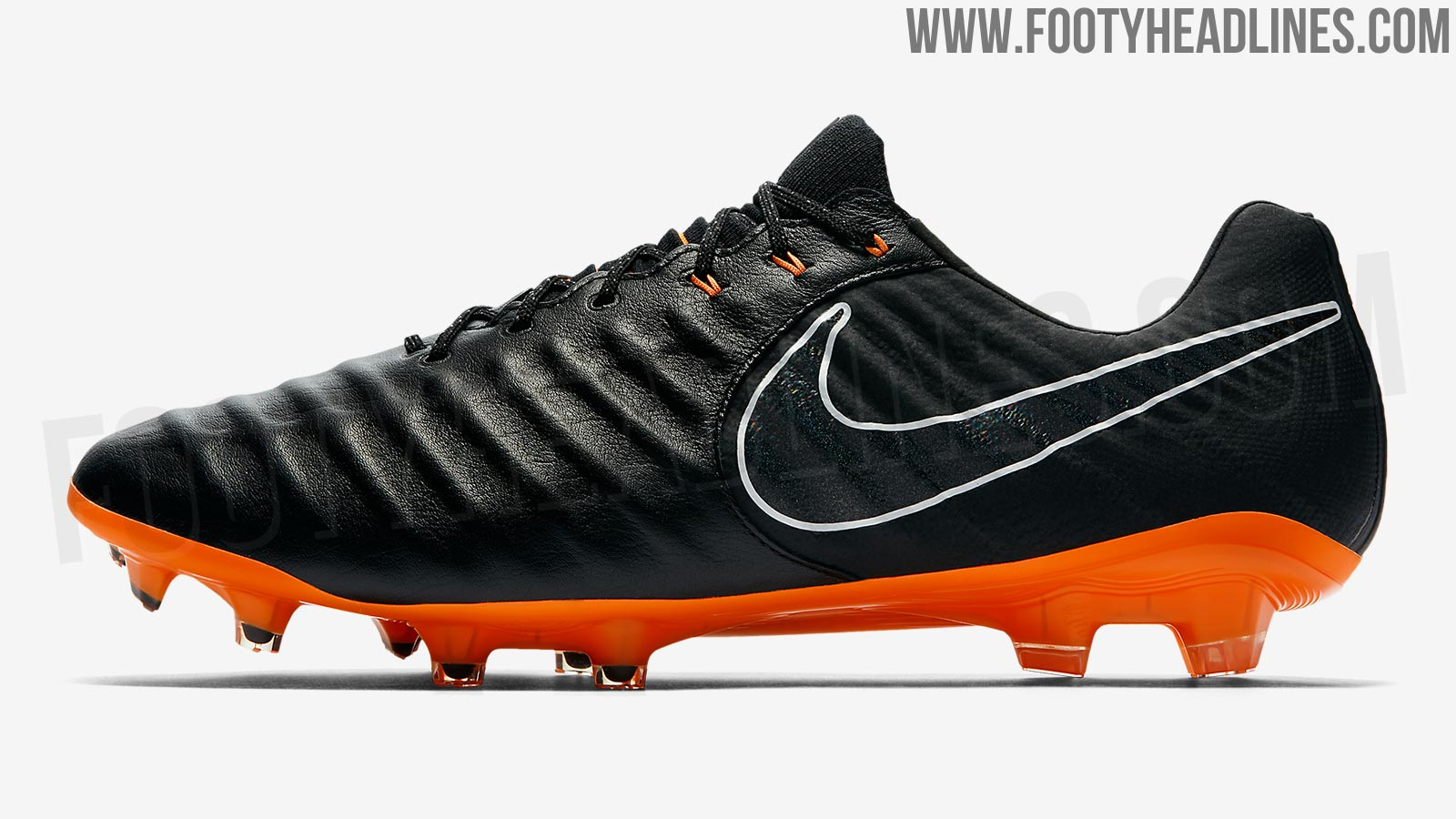 schwarz orange nike tiempo legend vii elite 2018 fu ballschuhe geleakt nur fussball. Black Bedroom Furniture Sets. Home Design Ideas