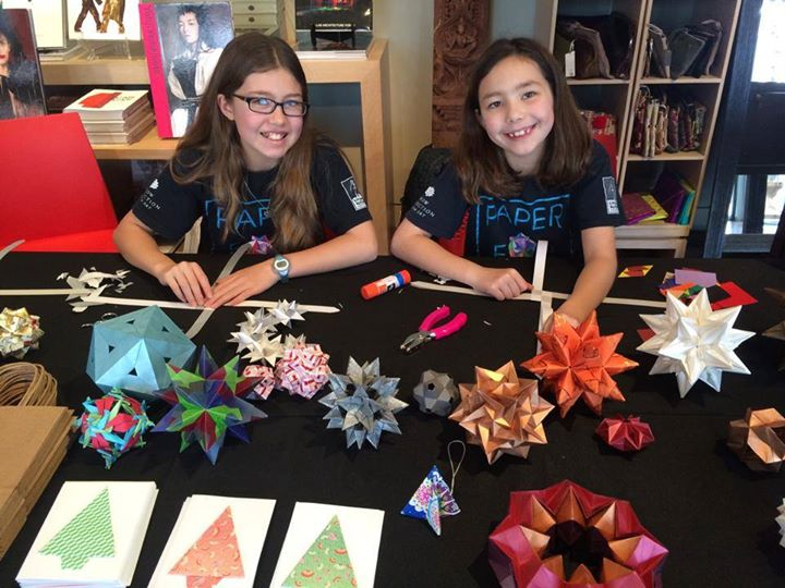 Young Sisters Make $650,000 Selling Origami And Use It To Build Wells All Over The World