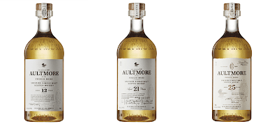 Aultmore whisky range