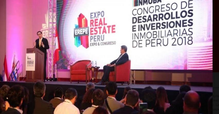 Gobierno trabaja en la entrega de bonos para acceso a la casa propia, informó el Presidente Martín Vizcarra