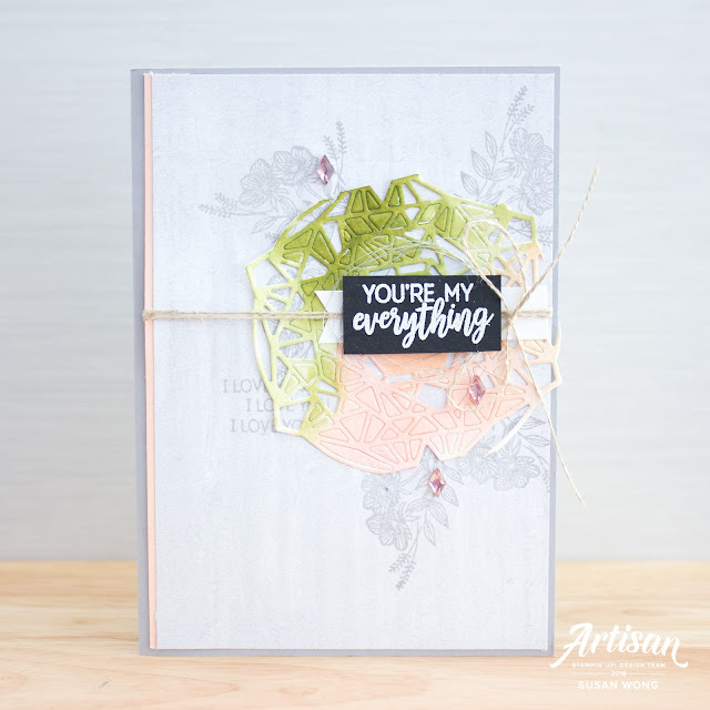 Beautiful Promenade + Beautiful Layers Thinlits by Stampin' Up! - Susan Wong for the Artisan Desgin Team