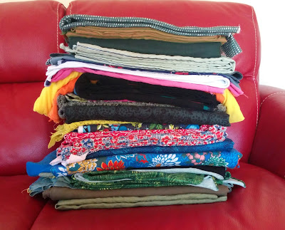 Creates Sew Slow: Fabricaholic wash pile