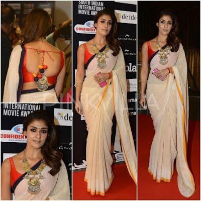 Dress look Like Nayanthara
