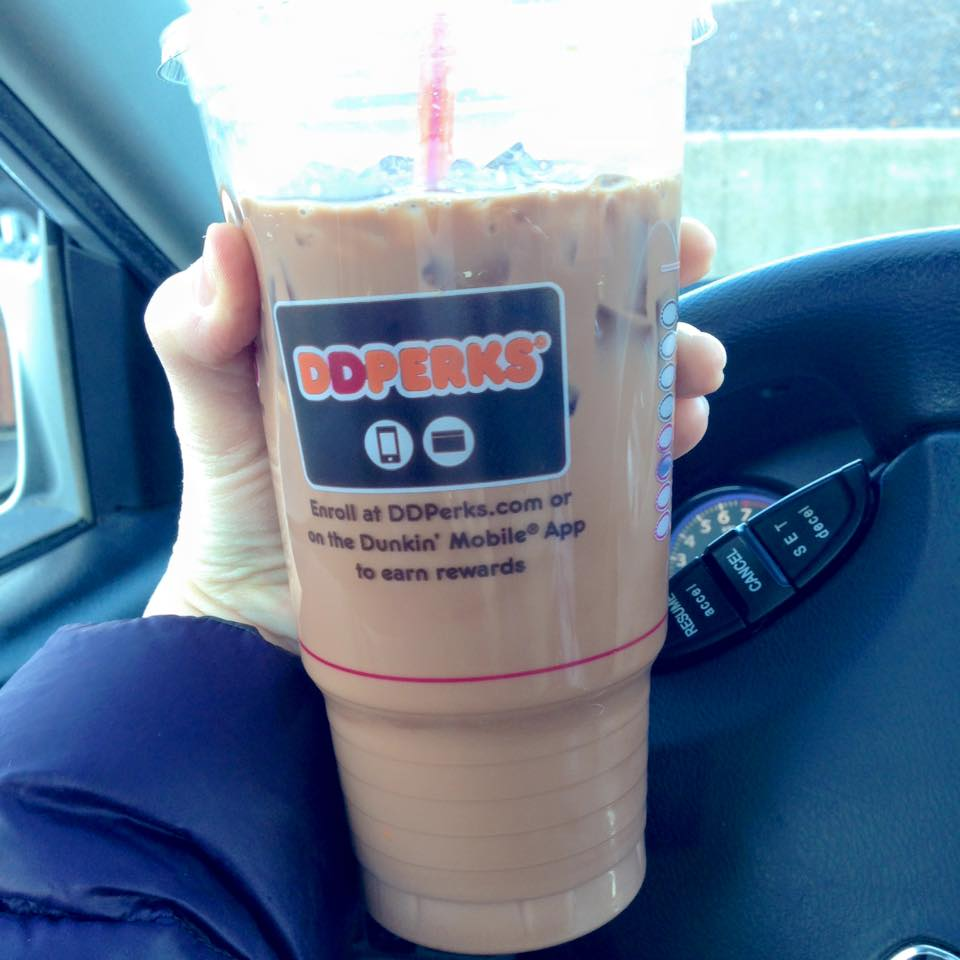 Dairy-Free Almond Milk Lattes At Dunkin Donuts
