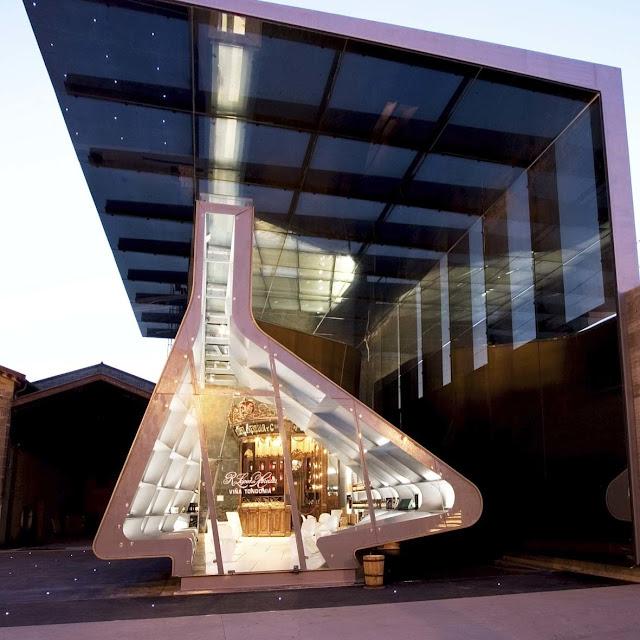 4. R. Lopez De Heredia Wine Pavilion (2001–2006) di Haro, La Rioja, Spanyol